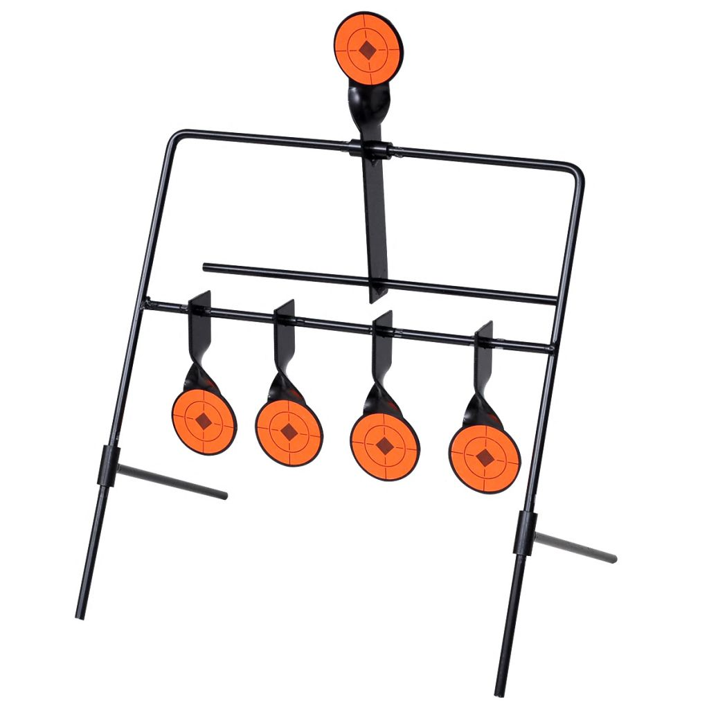 Auto Reset Spinner Shooting Target with 4 + 1 Targets