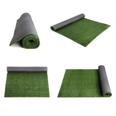 Primeturf Synthetic 17mm  1.9mx5m 9.5sqm Artificial Grass Fake Turf Olive Plants Plastic Lawn