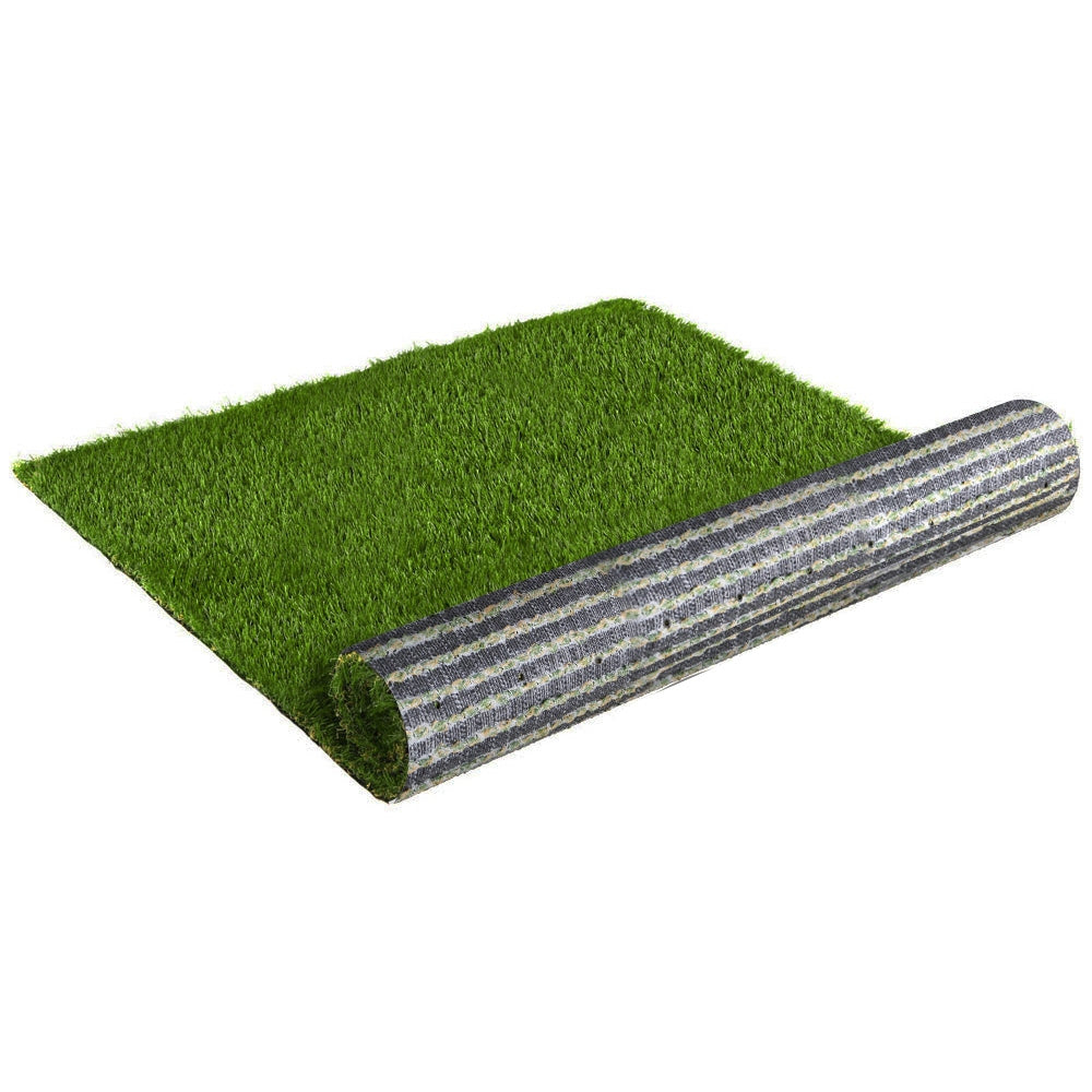 Primeturf Synthetic Artificial Grass Fake Lawn 2mx5m Turf Plant Olive 30mm
