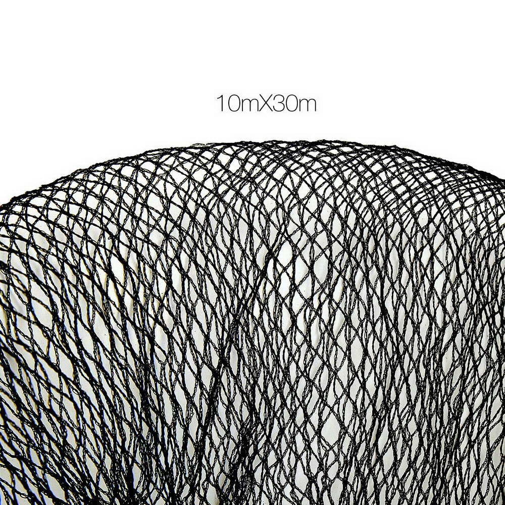 Instahut 10 x 30m Anti Bird Net Netting - Black