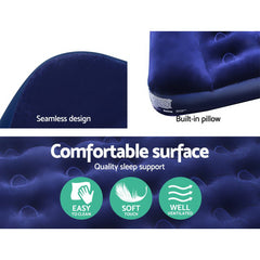 Bestway Single Size Inflatable Air Mattress - Navy