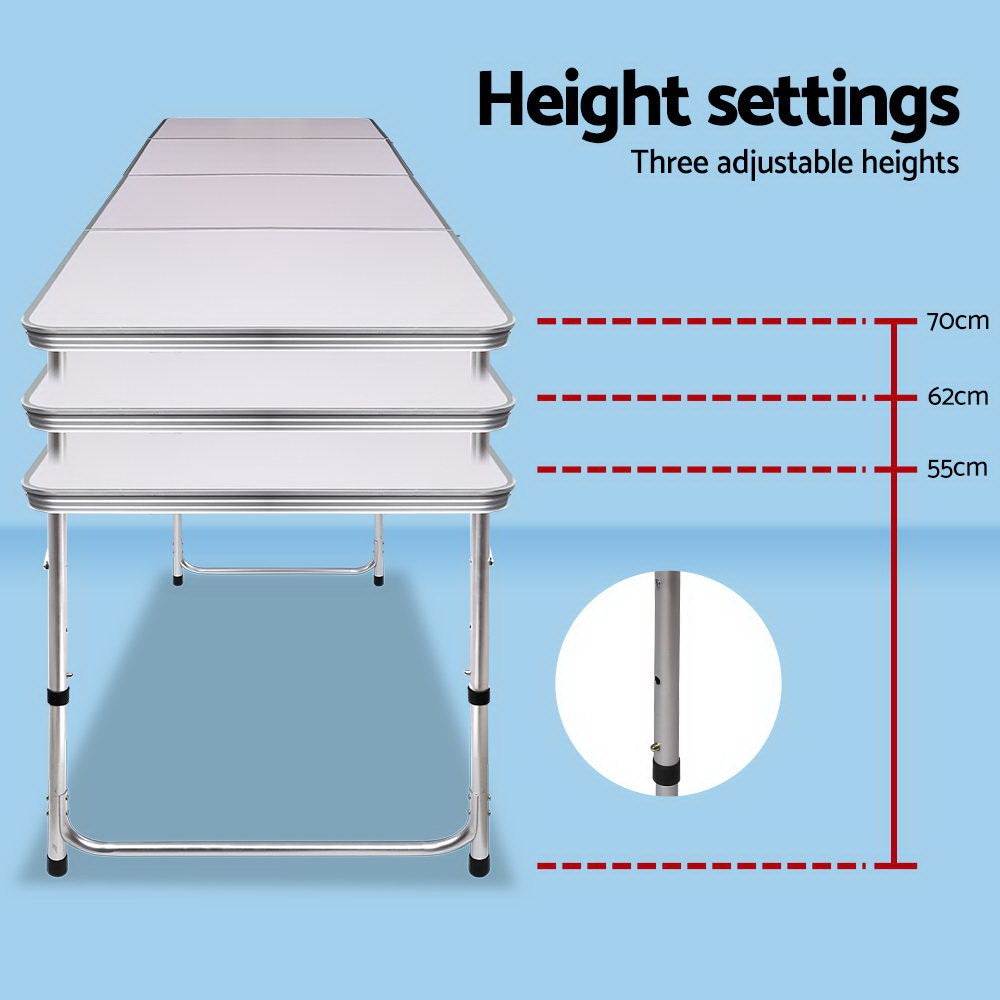 Portable Folding Camping Table 240cm