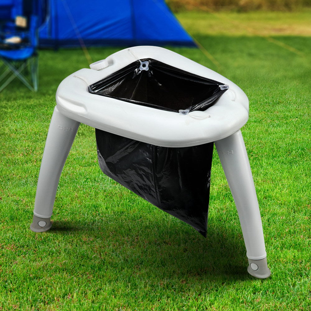 Outdoor Portable Folding Camping Toilet