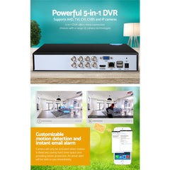 UL Tech 8 Channel CCTV Security Video Recorder