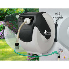 Green Fingers 20m Retractable Water Hose Reel