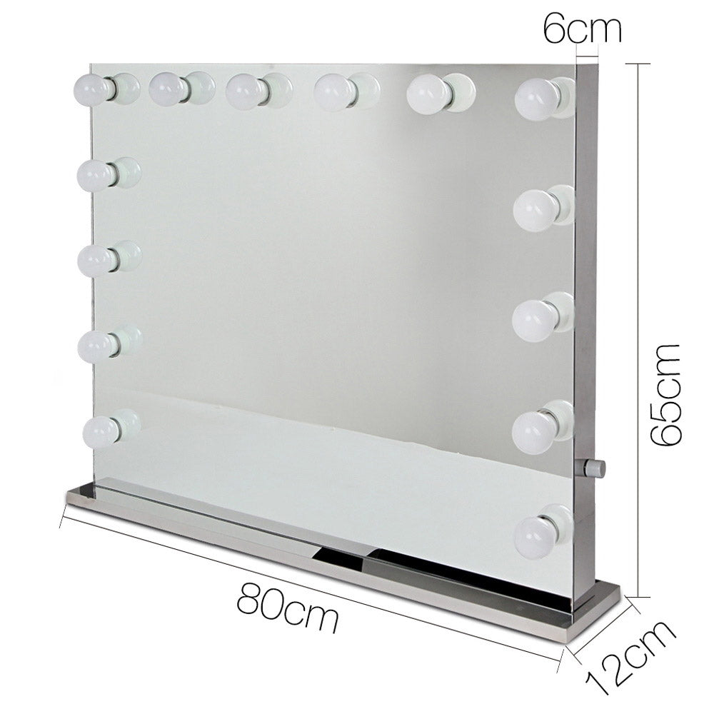 Embellir Holly Wood Make Up Mirror with LED Light Bulbs