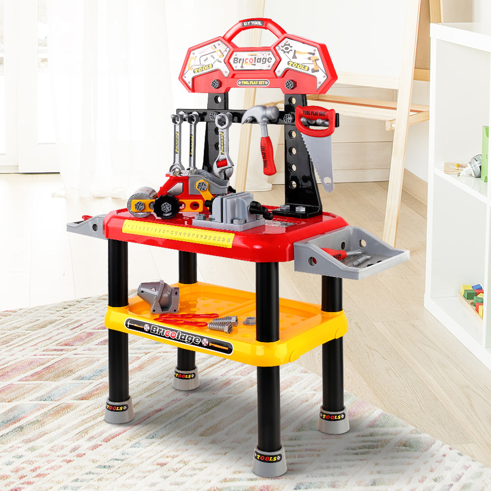 Keezi Kids Workbench Play Set - Red