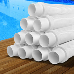 Aquabuddy 1 x 10m Durable Pool Cleaner Hose - White