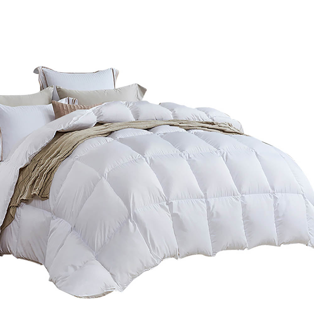Giselle Bedding King Size Light Weight Duck Down Quilt Cover