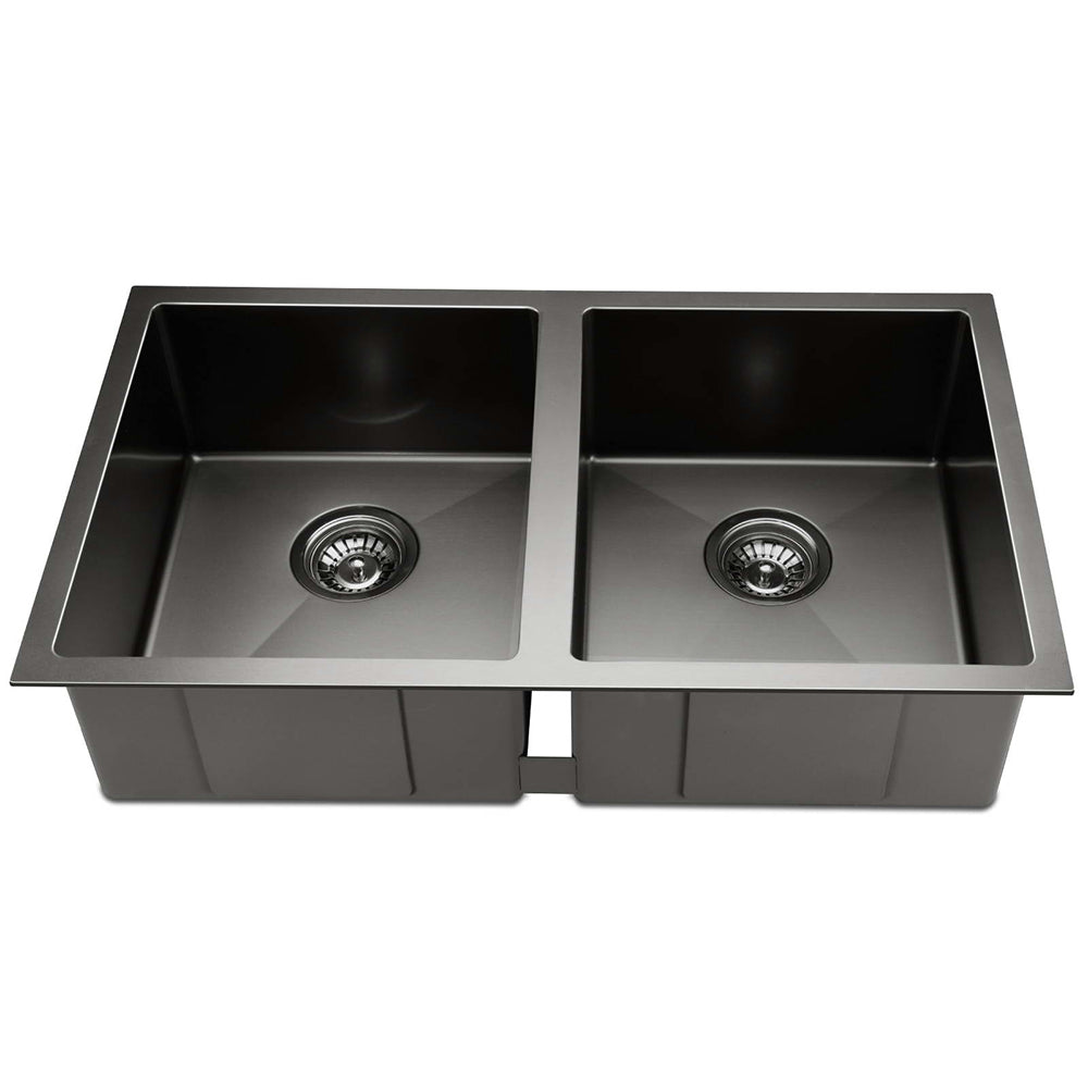 Cefito 770 x 450mm Stainless Steel Sink - Black