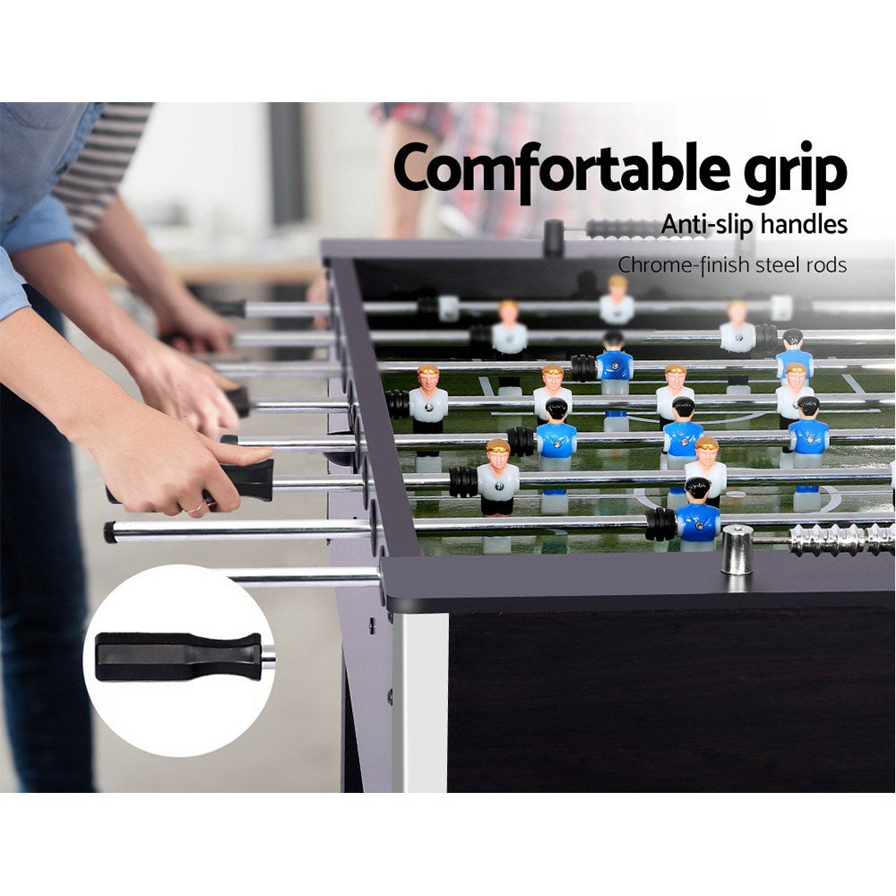 5FT Soccer Table Foosball Football Game Home Party Pub Size Kids Adult Toy Gift