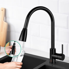 Cefito Pull-out Mixer Faucet Tap - Black