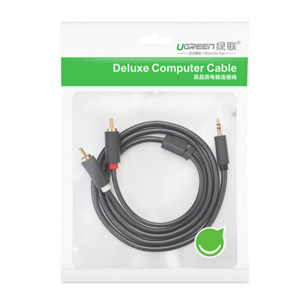 UGREEN 3.5mm male to 2RCA male cable 5M (10513)
