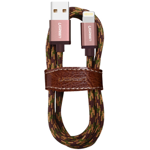 UGREEN Lightning Cable - Dark brown 1M (40689)