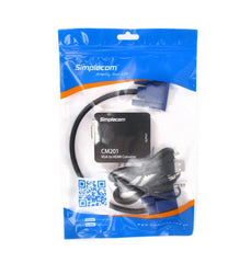 Simplecom CM201 Full HD 1080p VGA to HDMI Converter with Audio