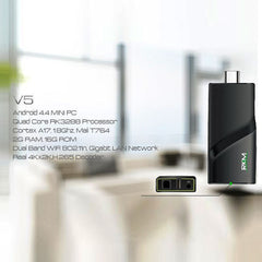 RKM V5 Quad Core 4K mini PC RK3288 2G DDR3/16G ROM/BT 4.0 Dual Band/Wifi /Gbit Lan/Andriod