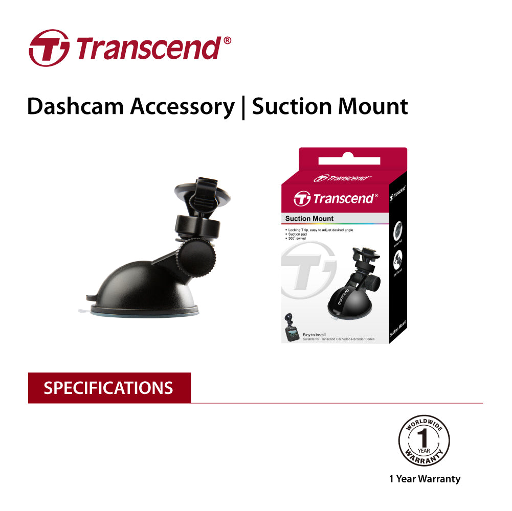 TRANSCEND TS-DPM1  Suction mount for DrivePro