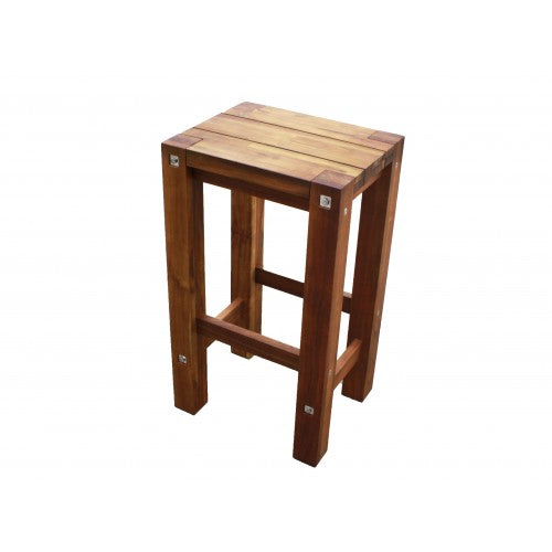 Sturdy Stool Natural Oil Finish
