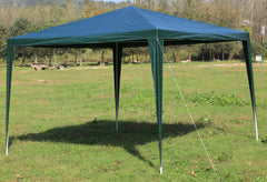 3x3m Gazebo Outdoor Marquee Tent Canopy Green