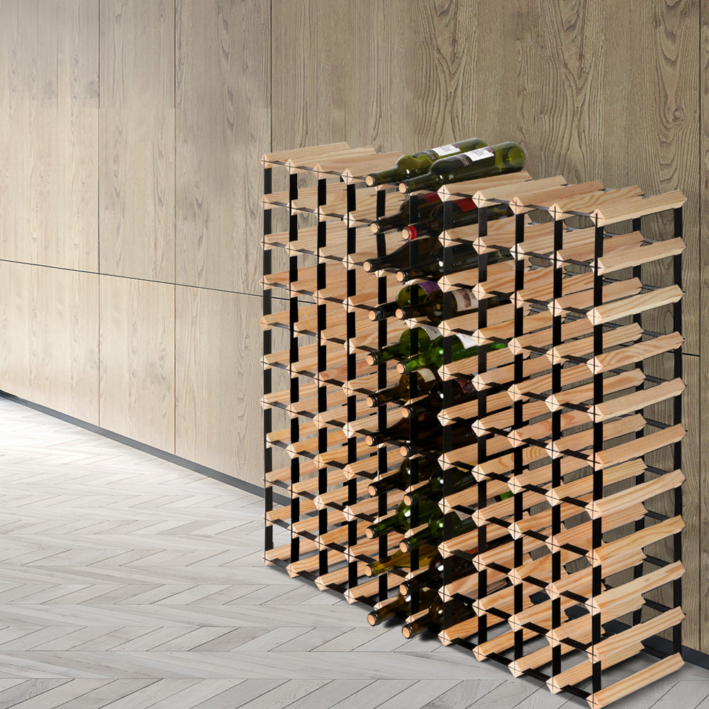 Artiss 110 Bottle Timber Wine Rack