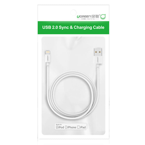 UGREEN Lighting to USB cable 2M (20730)