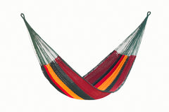 King Size Outdoor Cotton Hammock in Imperial