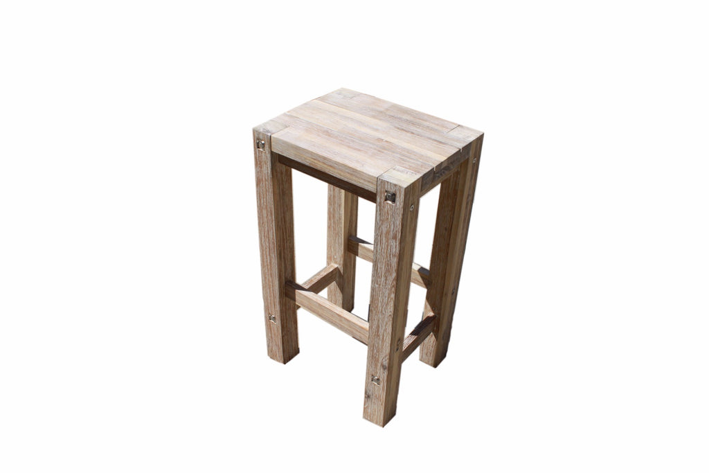 Sturdy Stool White