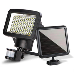Set of 2 120 LED Solar Powered Sensor Light