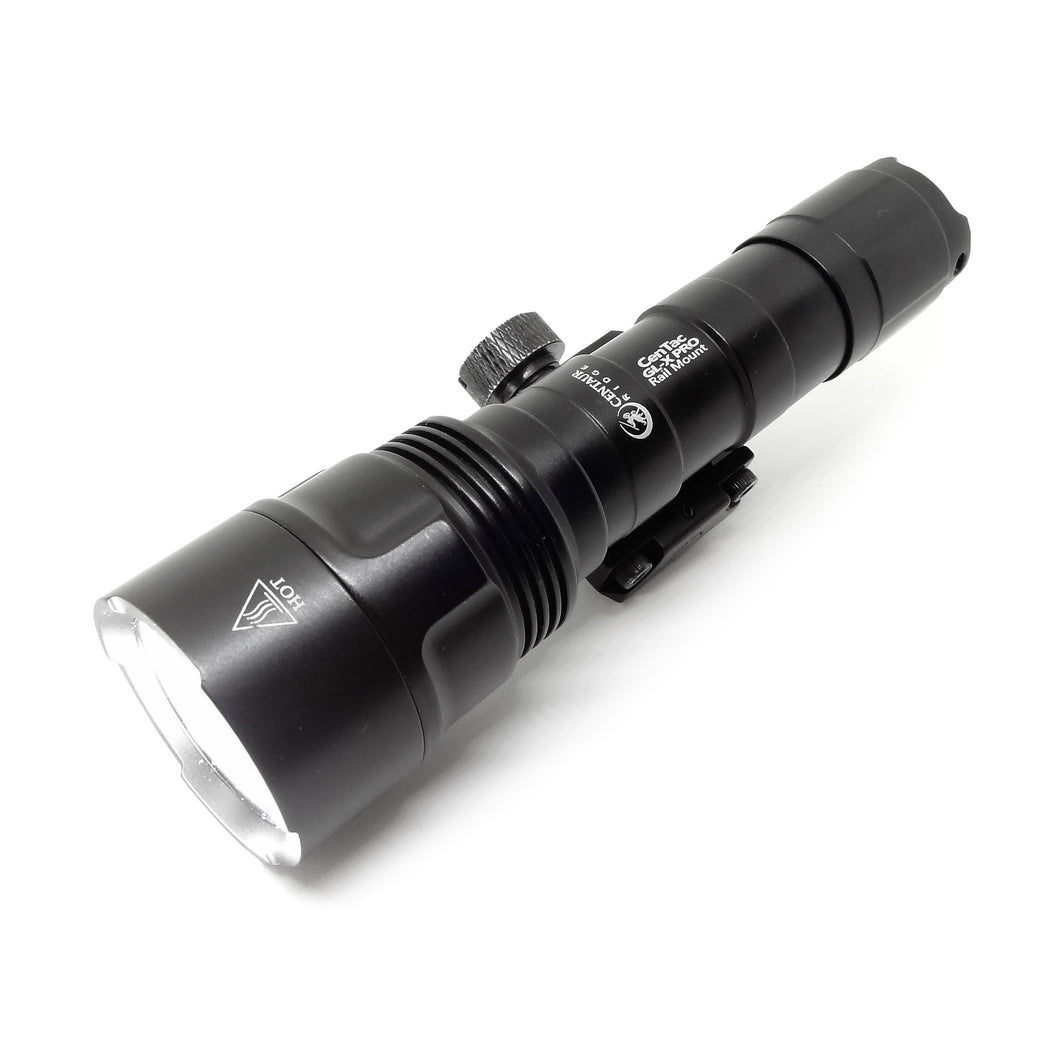 Centaur Ridge CenTac GL-X PRO Rail Mount Flashlight  | 1000 Lumen | Pro Series