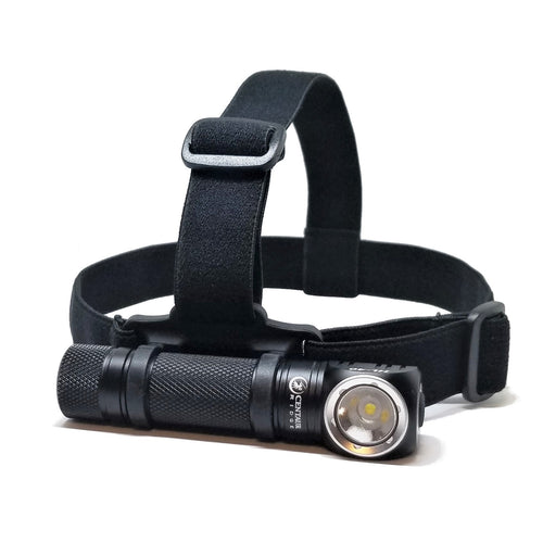 Centaur Ridge CenTac HL-40 Rechargeable Multi-Function LED Headlamp | 1200 Lumen | Pro Series