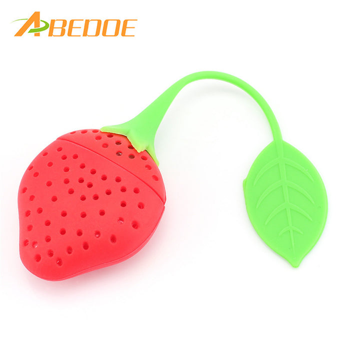 ABEDOE Strawberry Tea Leaf Infuser
