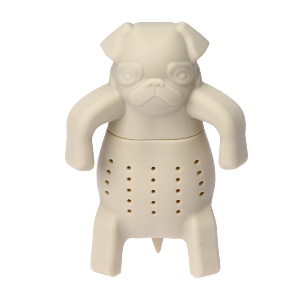 Silicone Pug Loose Leaf Tea Infuser
