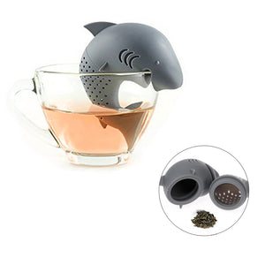 Silicone Shark Loose Leaf Tea Infuser