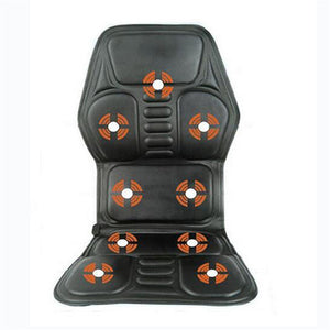 Heated Back Massage Seat Topper Car Home Office Massager