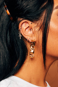 Fly Level Is Love - Gold Earrings