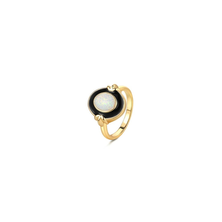 Breakfast Ring- Solid Gold