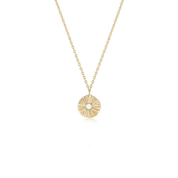 Hannah Necklace - Solid Gold