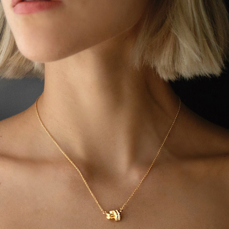 Petite Love Knot Necklace