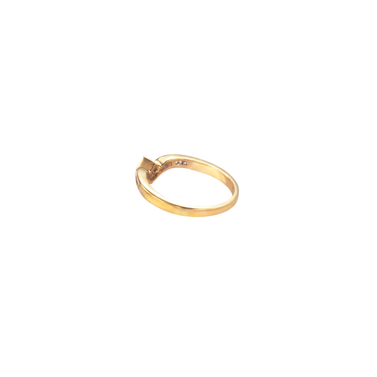 One Of A Kind Laetitia Ring - Solid Gold/Diamonds