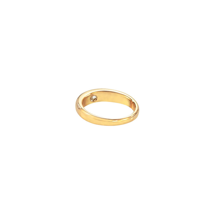 One of A Kind Chantelle Ring - Solid Gold/Diamonds