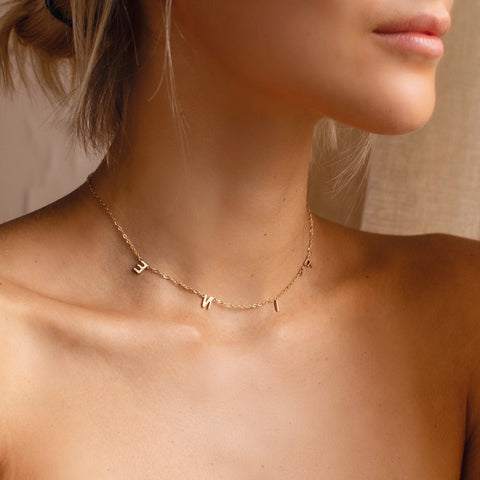 Finest Gold Necklace - Solid Gold