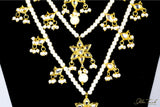 Bejeweled Necklace Queen's Necklace Pearl Cape