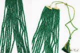 Empress Necklace Rita Empress Emerald Inspired Long Necklace