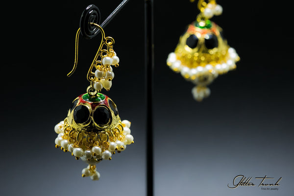 Fusion Earrings Beaded Hanging Earrings