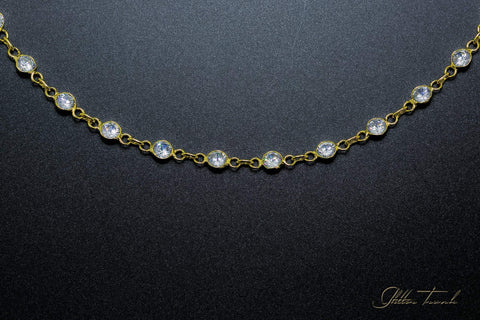 Voguish Necklace Crystal Necklace Chain