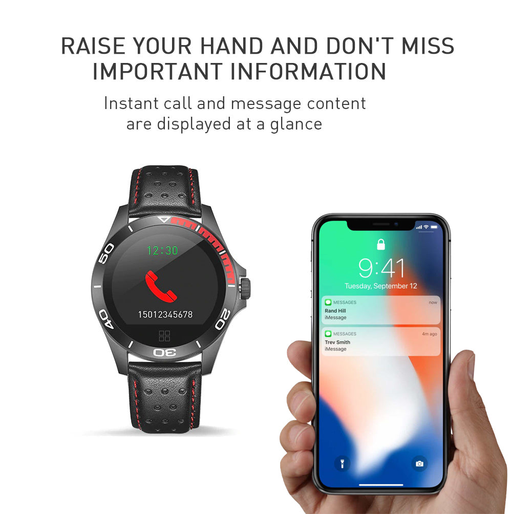 leather smartwatch 2019
