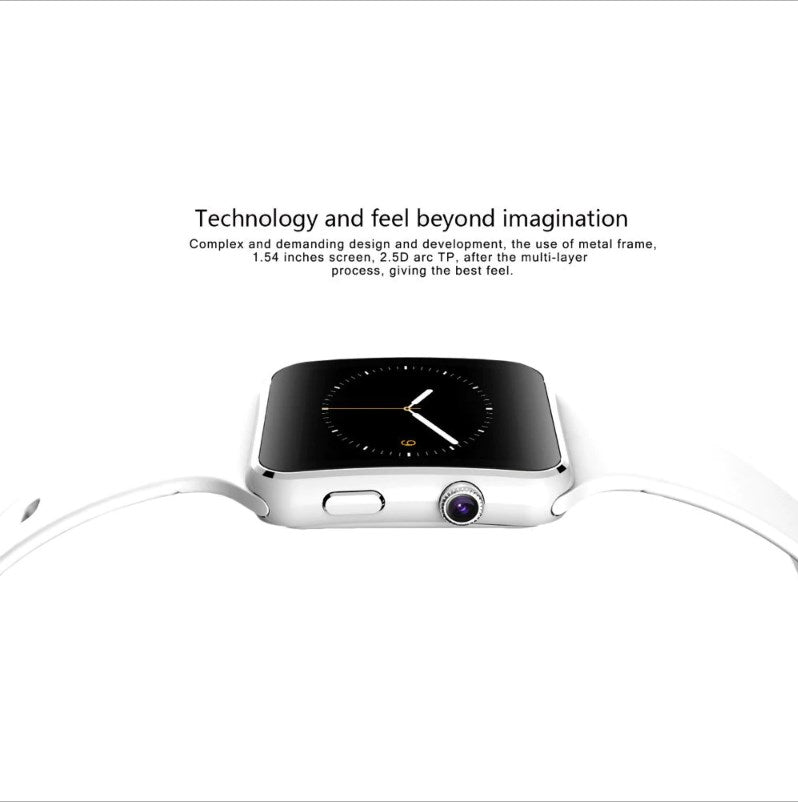 Smart Watch with Camera Touch Screen