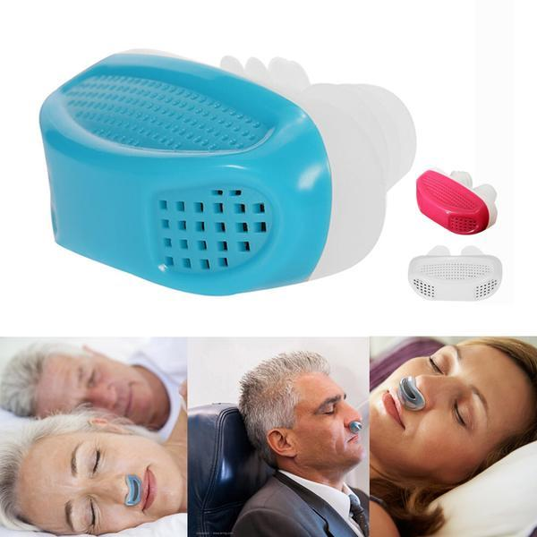 2pcs Anti Snore Device - Give You a Comfortable Sleep Without Snoring!