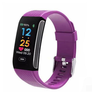 Be healthy every time! Blood Pressure & Heart Rate Intelligent Wrist Watch