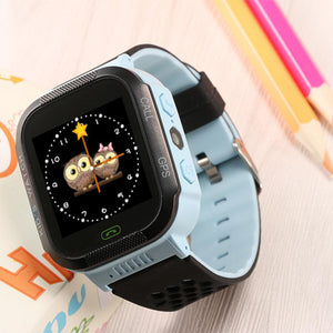 Cute Sport Q528 Kids GPS Tracker Watch Kids Smart Watch with Flash Light Touch Screen SOS Call Location Finder for Child